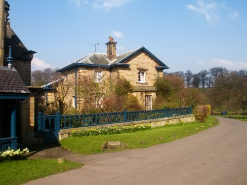 Cottage in Edensor near Chatsworth