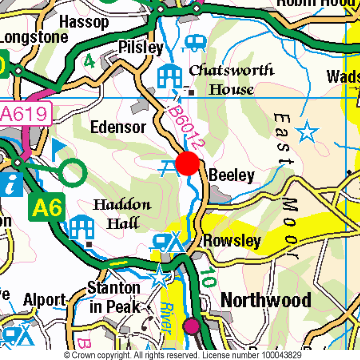 Calton Lees Location Map
