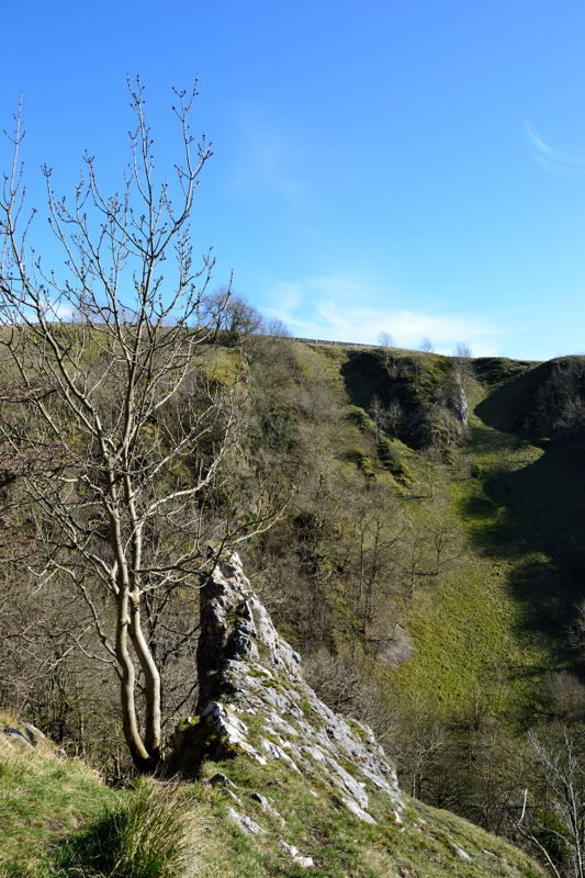 Looking over Nabs Dale from The Nabs in Dovedale