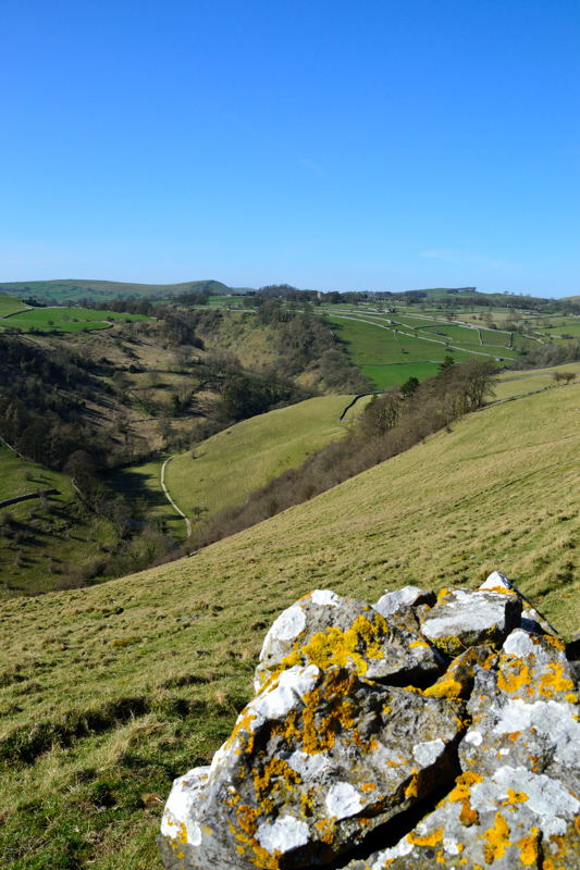 Dovedale and Alstonefield from Baley Hill