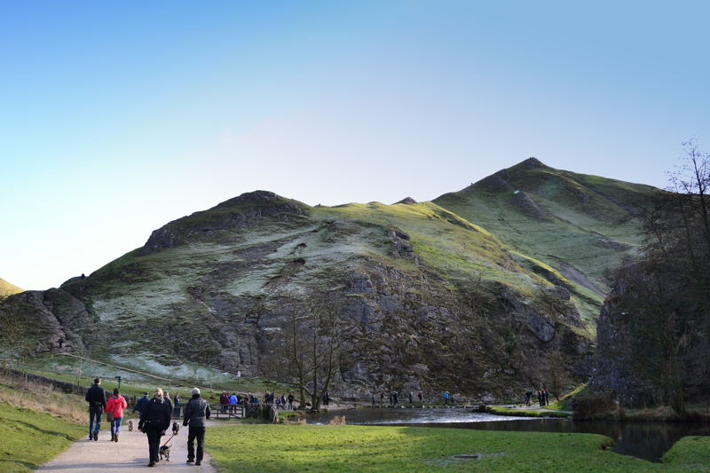 The Summit of Thorpe Cloud from Dovedale