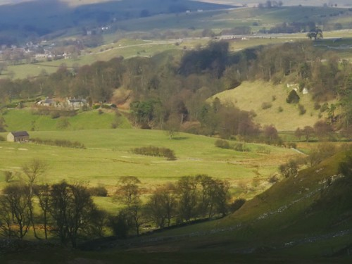 Beresford Dale and Hartington from Narrowdale