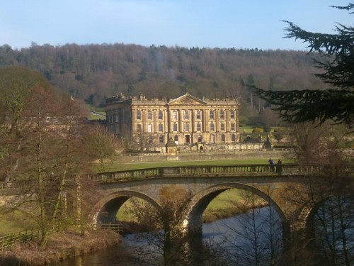 The home of the Duke and Duchess of Devonshire, Chatsworth House is set in a magnificent landscape and was seen in the recently released film of Pride and Prejudice