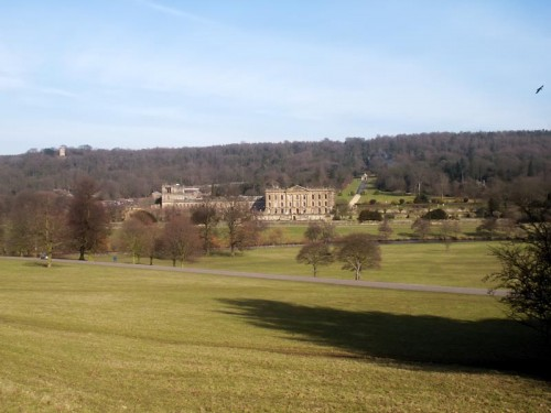 Chatsworth House from Chatsworth Park