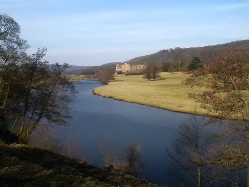 Chatsworth Park & River Derwent The 1000 acre park on the banks of the river Derwent, was designed by 'Capability' Brown in the 1760's.