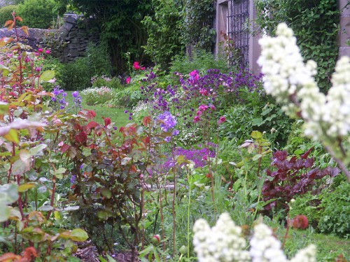 A cottage garden in Wetton