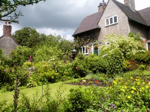 Cottage garden in Tissington