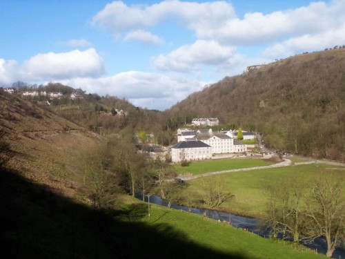 Cressbrook Mill closed in 1965 with the loss of 300 jobs, it is now restored and converted to luxury apartments.