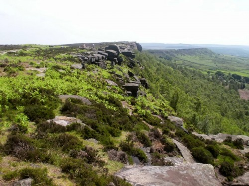 Curbar and Baslow Edge
