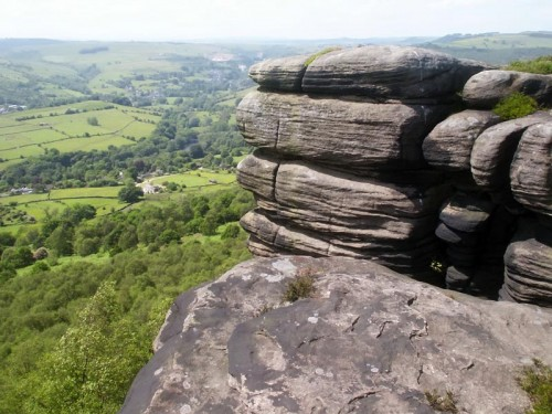 Curbar Edge and the Derwent Valley