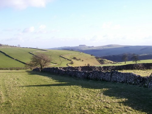 Looking south from Wetton Low