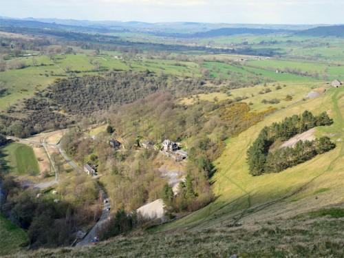 Ecton and the Manifold Valley from Ecton Hill