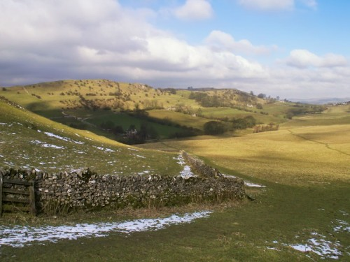 Ecton Hill from Wetton Hill