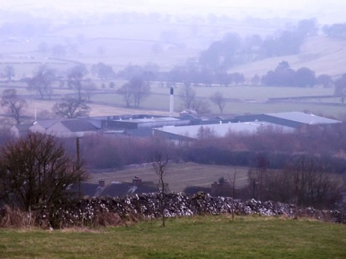 The former cheese factory at Hartington