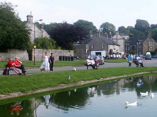 Hartington Mere built to hold water in times of drought.