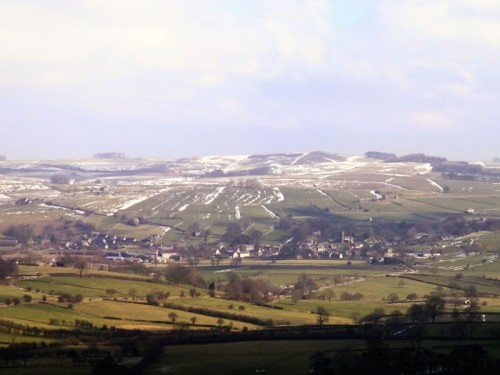 Hartington from Ecton Hill