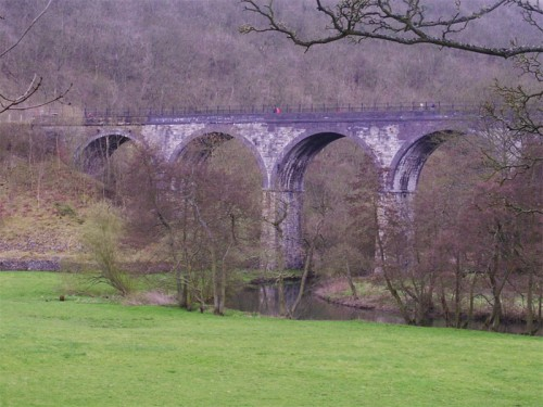 Headstone Viaduct in Monsal Dale