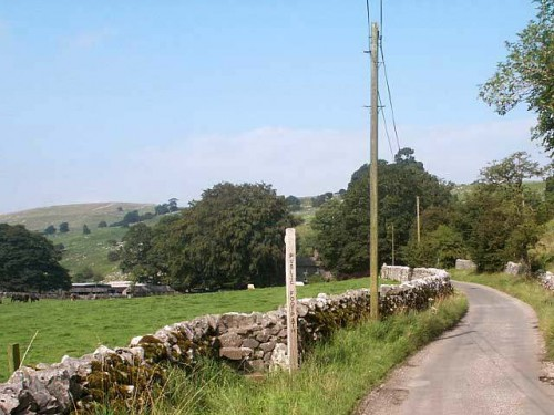 Hide Lane north of Hartington