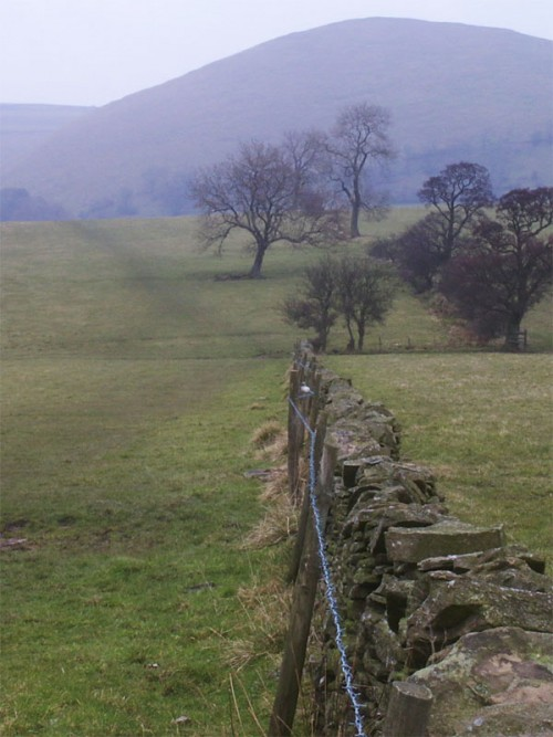 Looking towards High Wheeldon