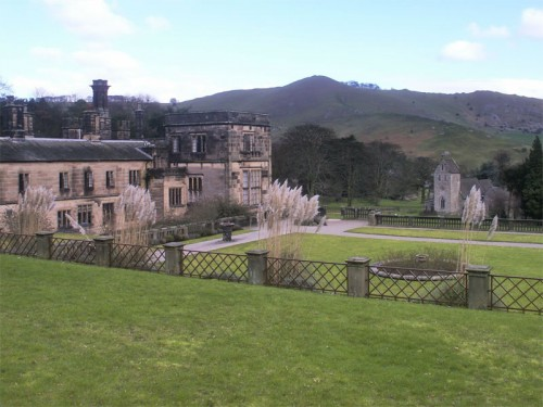 A Victorian Gothic National Trust mansion surrounded by parkland close to Dovedale. The hall and grounds are used as a youth hostel (YHA)