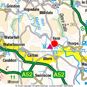 Ilam Location Map