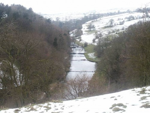 Lathkill Dale from Conksbury