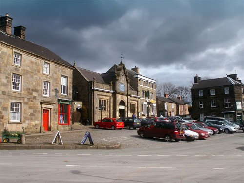 The Market Square in Longnor