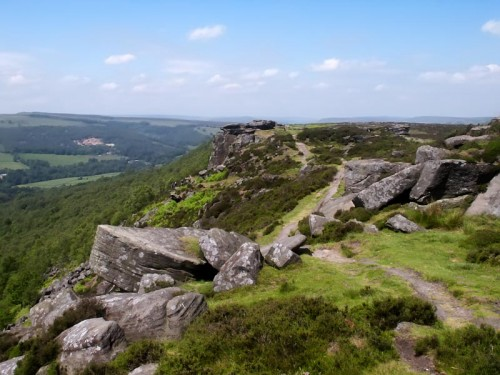 Looking North from Curbar Edge