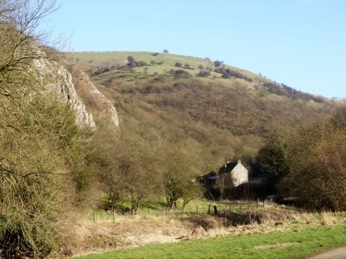 Beeston Tor and the Manifold Valley