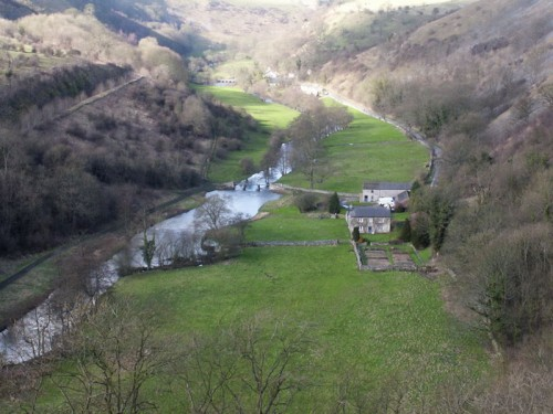 Looking from Monsal Head towards Upperdale