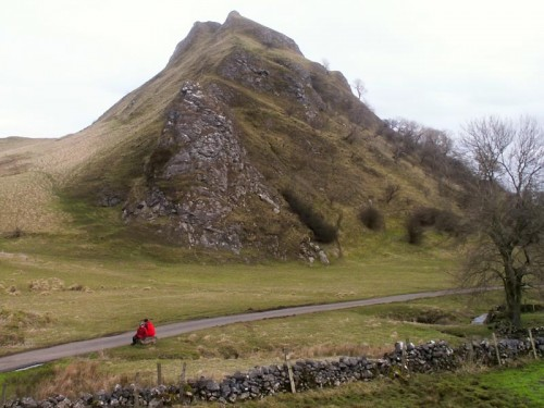 Parkhouse Hill from the base of Chrome Hill