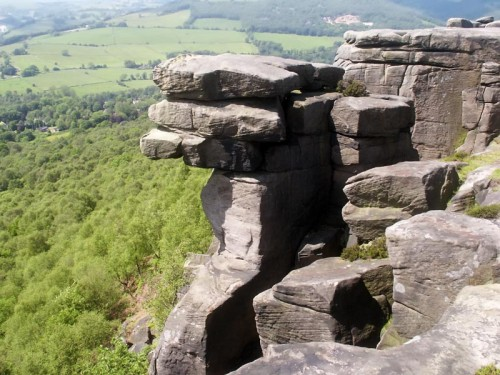 Rock Pinnacle on Curbar Edge