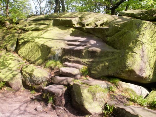 Steps and Armchairs on Rowtor Rocks