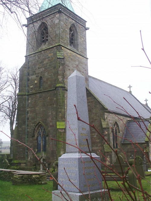 Sheen Church, dedicated to St Luke, was an ancient structure, but the nave was rebuilt in 1829, and the chancel rebuilt, in 1851