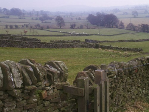 The Manifold Valley from the outskirts of Longnor