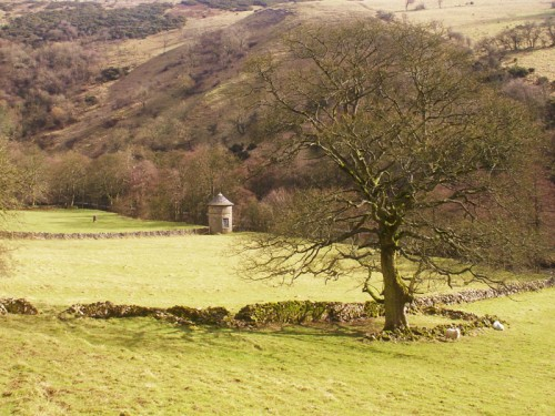 Looking over the Manifold Valley north of Wetton Mil