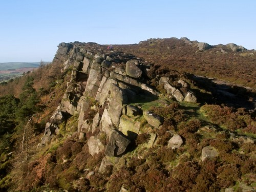 The Roaches looking north towards Roach End