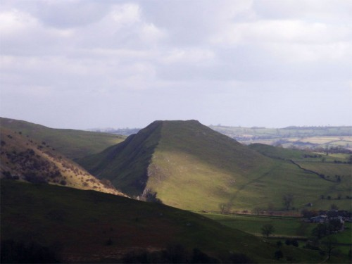 Thorpe Cloud from Musden Low