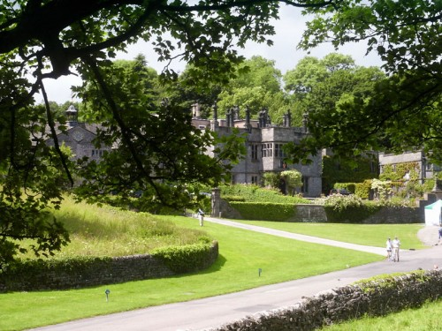 Tissington Hall, built by Francis FitzHerbert in 1609 to replace the moated manor house to the north of the church, it has served the FitzHerbert family as the main home for the best part of 400 years