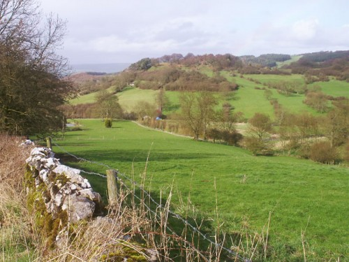 View north from the Limestone Way