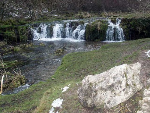Waterfall on the River Lathkill