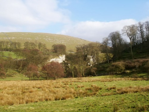 Wolfscote Dale from the Narrowdale path.