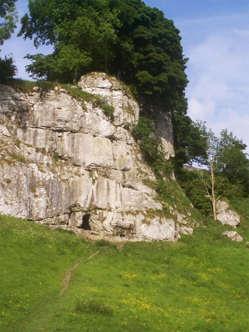 Wolfscote Dale is longer than Beresford Dale, with rocky tors and caves dotted along the valley