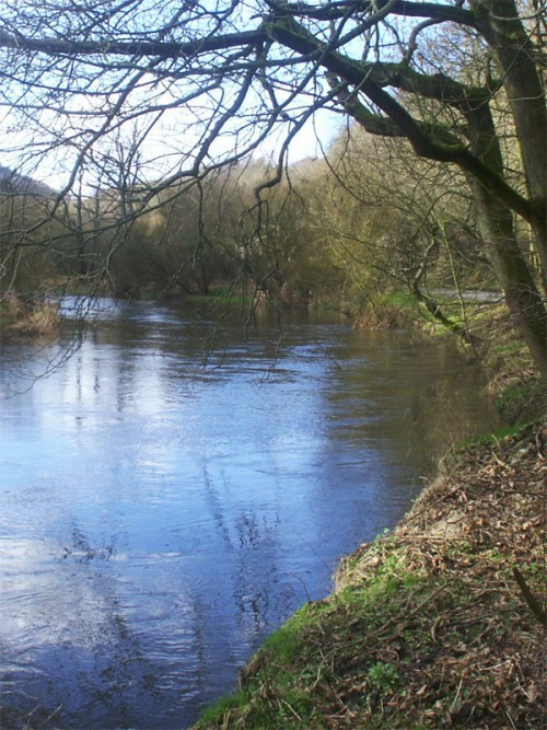 The River Wye at Millers Dale