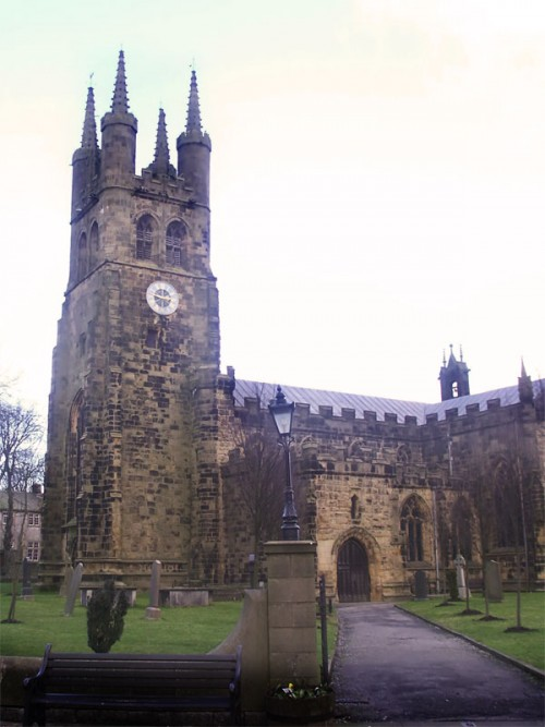 The church of St John the Baptist in Tideswell is widely known due to its size and splendour as the Cathedral of the Peak