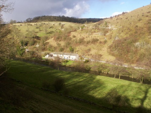 The view from the Monsal Trail towards Upperdale